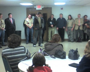 Troop Four Eagle Scouts
