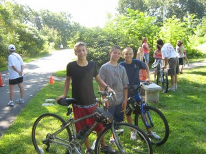 Troop 4 Takes Gold, Silver, Bronze at Milford Triathlon_3870963051_o