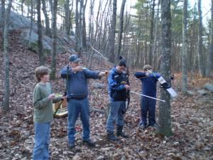 Archery firing squad