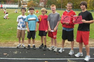 Troop 4 scouts dominate this week's Milford cross country
