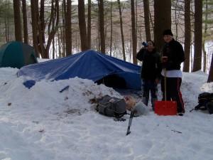 Snowbank Shelter