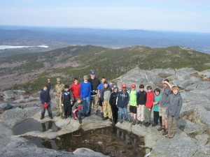 3165 foot Summit of Mount Monadnock