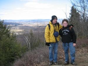 Holyoke Range view