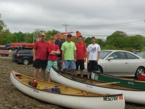 Troop 4 Blackstone River Canoe Racers
