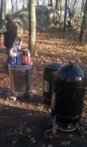Bullet Smokers  and Trash Can cooking