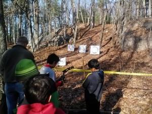 Troop 4 archery range