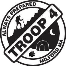 Troop 4 logo